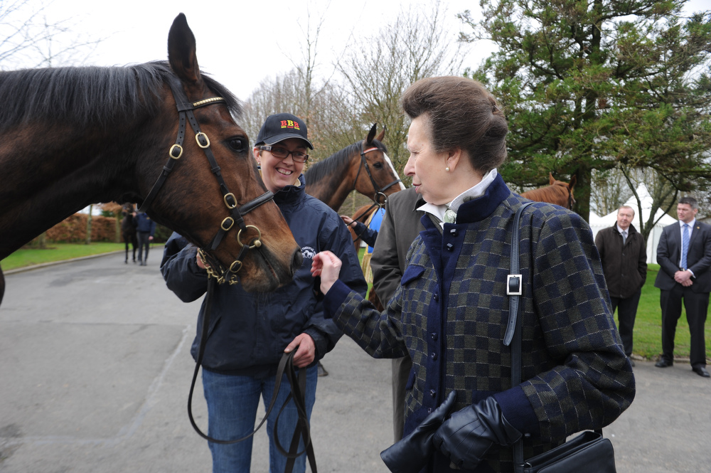 Saturday 10th March, 2012. Riding for Disabled Ireland welcomed HRH Princess to the National Stud in Kildare, Ireland today to watch a display of Riding and Carriage Driving. HRH Princess was fulfilling a promise she made when she was unable to visit the first North South RDA Conference in 2010 due to the Ash Cloud. RDAI riders were from four different Kildare RDAI Groups, and our Driver was from the Rathdown Driving Group.Pictured is Photo:Barry Cronin/www.barrycronin.com. info@barrycronin.com Wilkinstown, Navan, County Meath, Ireland 046-9055044/087-9598549