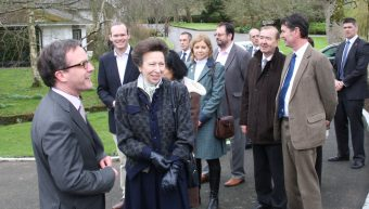 HRH Princess Anne Popped