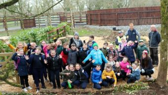 Tree Planting with St. Brigid's Primary School