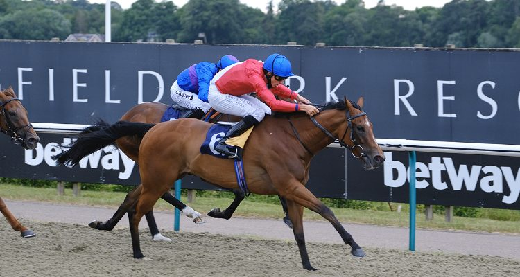 Flying West wins on debut