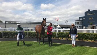 Sussex Garden wins The Free Eagle Fillies maiden