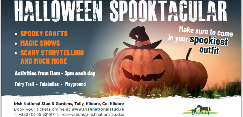 Join us for Halloween Spooktacular 2021, 23rd to 31st, 11am to 3pm!!